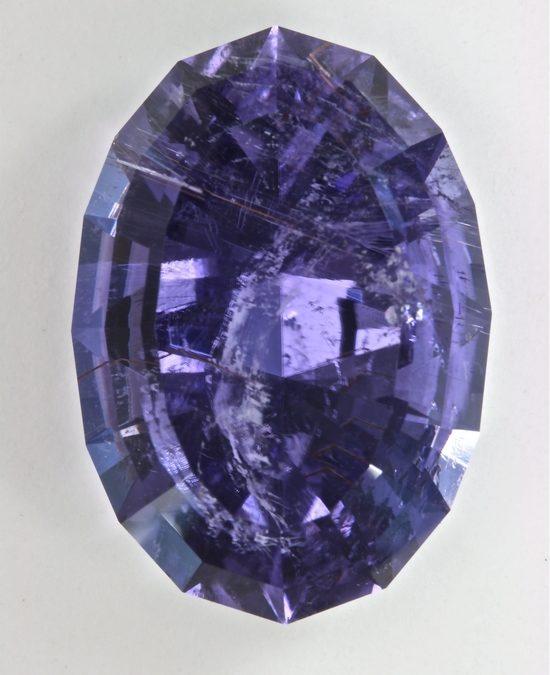Reverse Alexanderite Color Change Gemstone, Cuprian Tourmaline from Mozambique, Laurellite